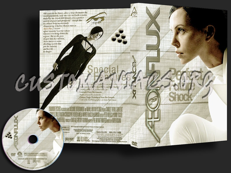 Aeon Flux dvd cover