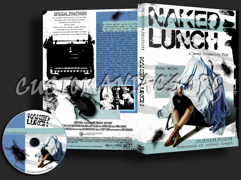 Naked Lunch dvd cover