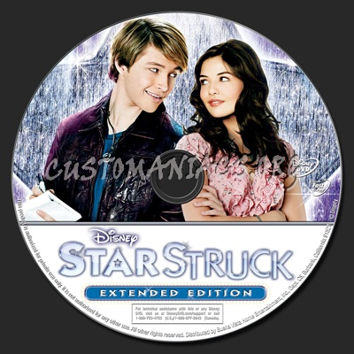 StarStruck Extended Edition dvd label