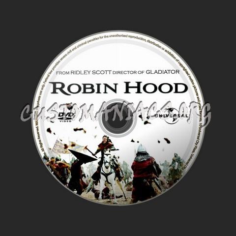 Robin Hood dvd label
