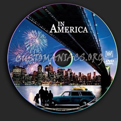 In America dvd label