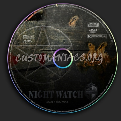 Night Watch dvd label