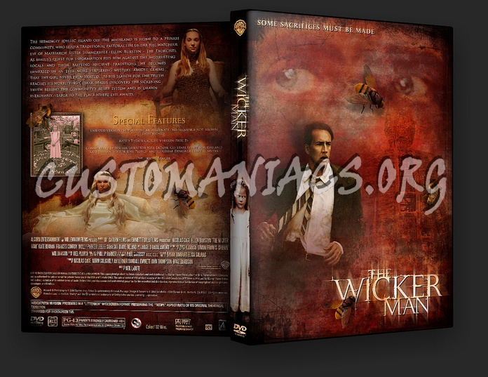 The Wicker Man dvd cover