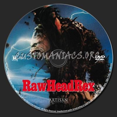 RawHead Rex dvd label