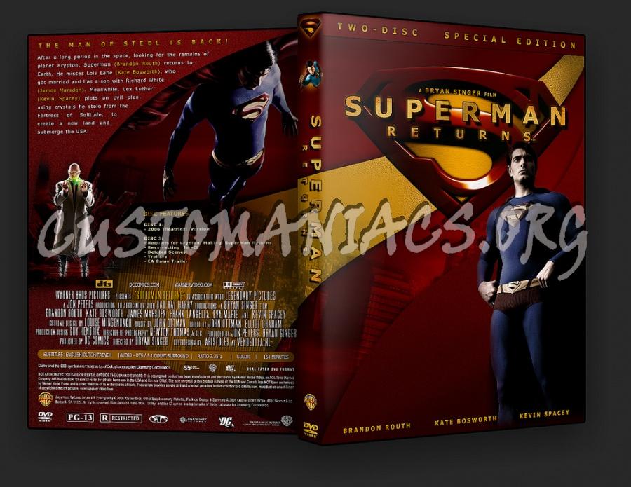 Superman Returns dvd cover