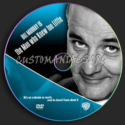 The Man Who Knew Too Little dvd label