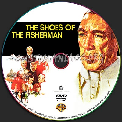 The Shoes of the Fisherman dvd label