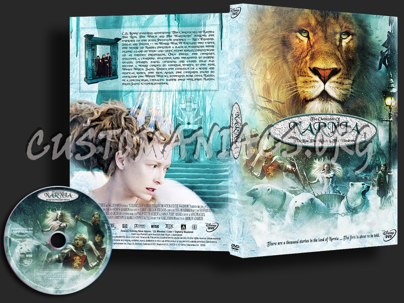 The Chronicles Of Narnia dvd cover