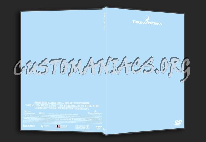 DreamWorks Thinpak dvd label