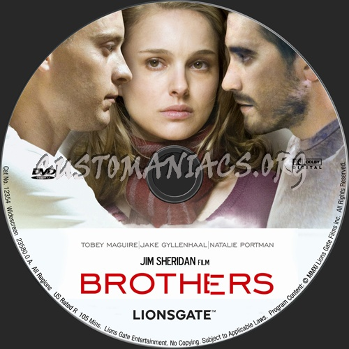 Brothers dvd label
