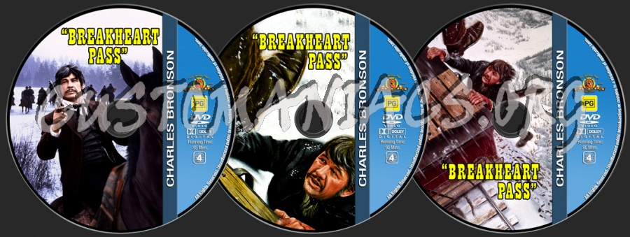 Charles Bronson Collection - Breakheart Pass dvd label