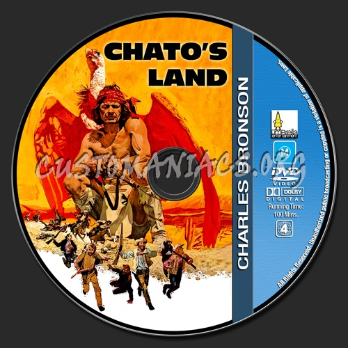 Charles Bronson Collection - Chato's Land dvd label
