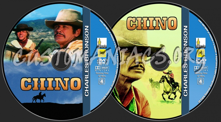 Charles Bronson Collection - Chino dvd label