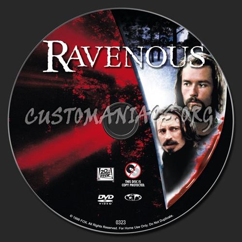 Ravenous dvd label