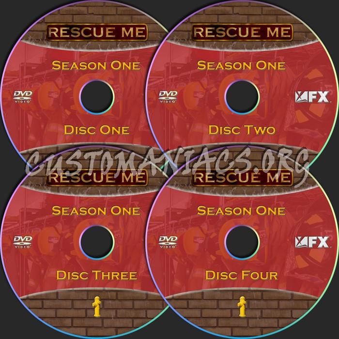Rescue Me dvd label