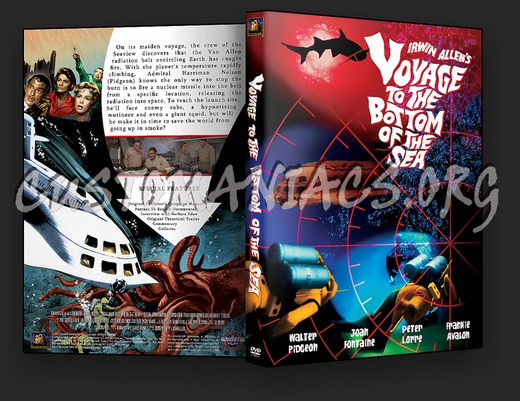 Voyage To The Bottom Of The Sea dvd cover