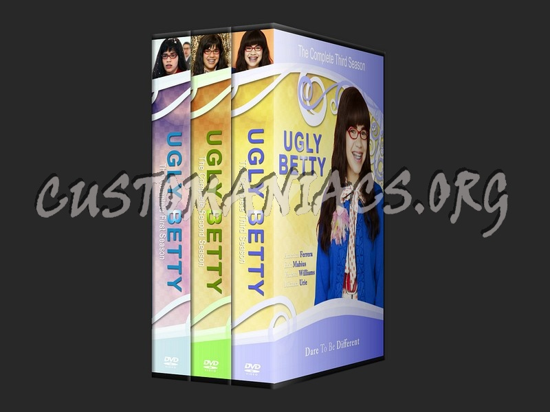 Ugly Betty dvd cover