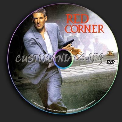Red Corner dvd label