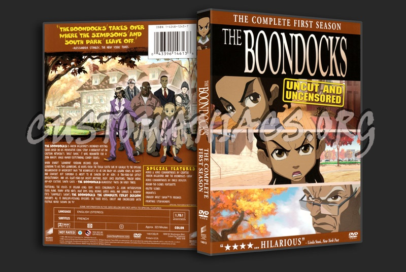 The boondocks season 1 dvd cover dvd covers labels by customaniacs id 107265 free download - Boondocks season download ...