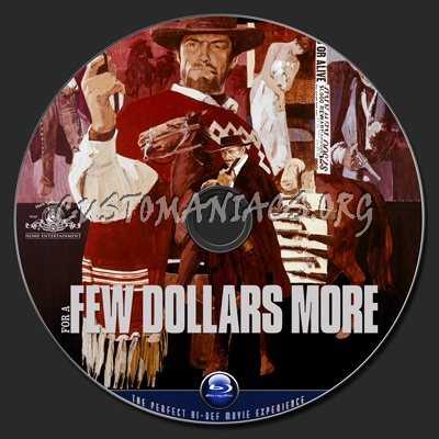 For A Few Dollars More blu-ray label