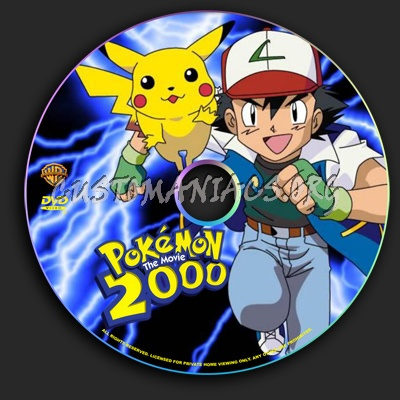 Pokemon 2000 The Movie Dvd Label Dvd Covers Labels By