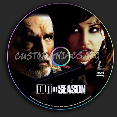 Out of Season dvd label