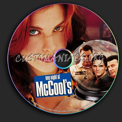 One Night at McCool's dvd label