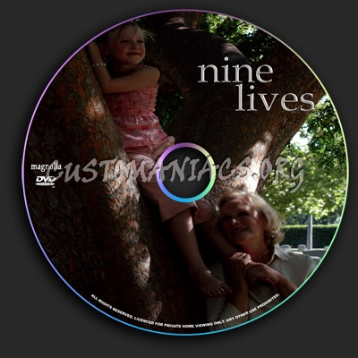 Nine Lives dvd label