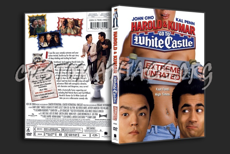 Harold and Kumar Go To White Castle dvd cover