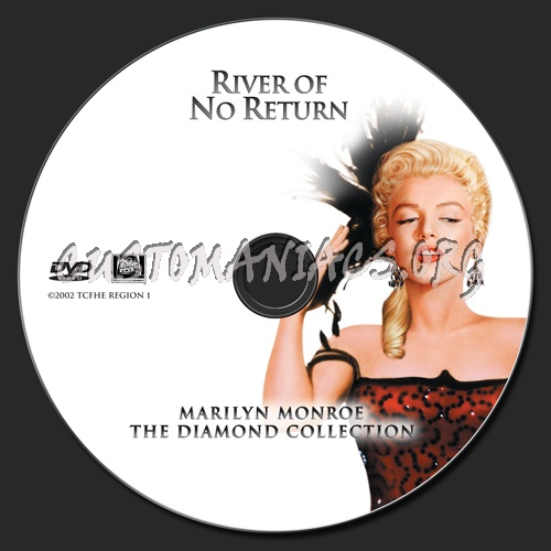 River of No Return dvd label