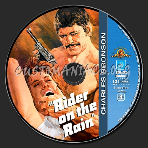 Charles Bronson Collection - Rider On The Rain dvd label