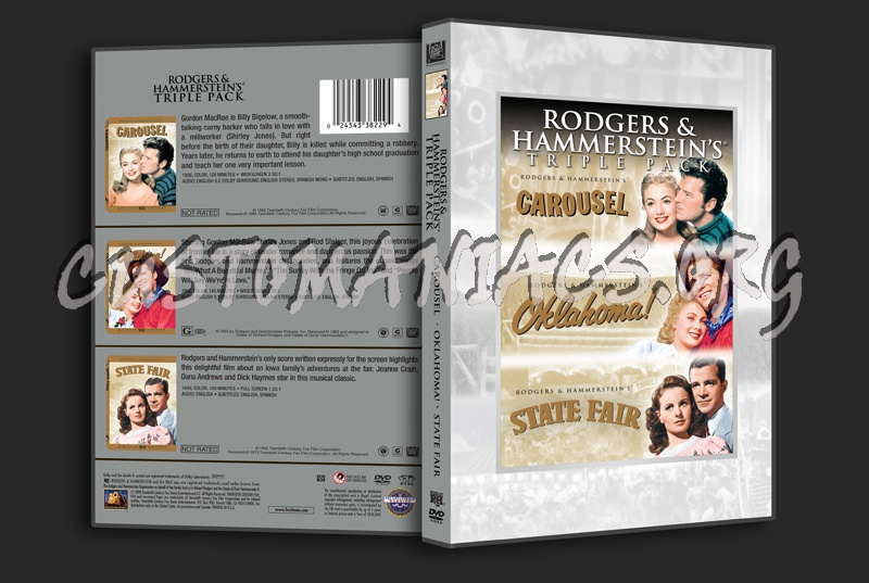 Rodgers and Hammerstein's Triple Pack dvd cover