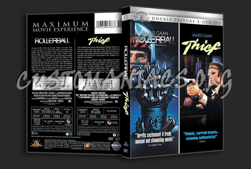 Rollerball  / Thief dvd cover