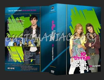 10 Things I hate About You dvd cover
