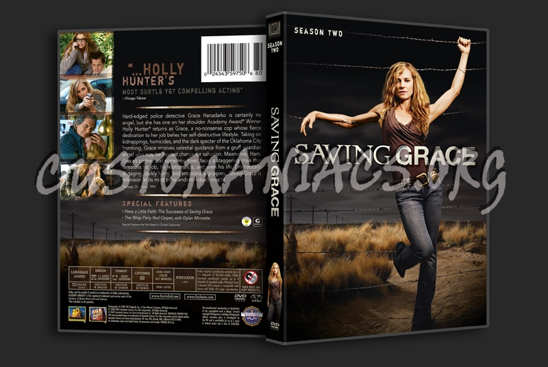 Saving Grace Season 2 Dvd Cover