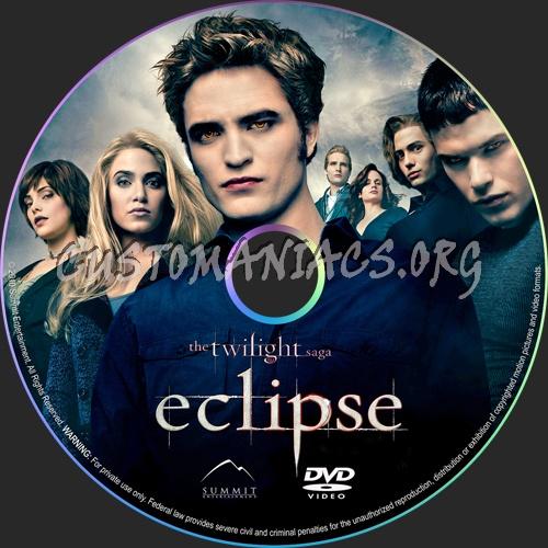 The Twilight Saga: Eclipse dvd label