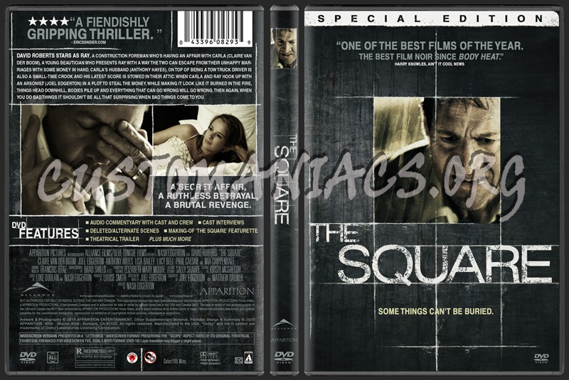 The Square dvd cover