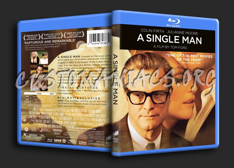 A Single Man blu-ray cover