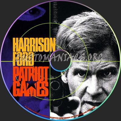 patriot games cd dvd label