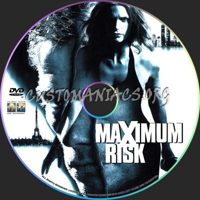 Maximum Risk dvd label