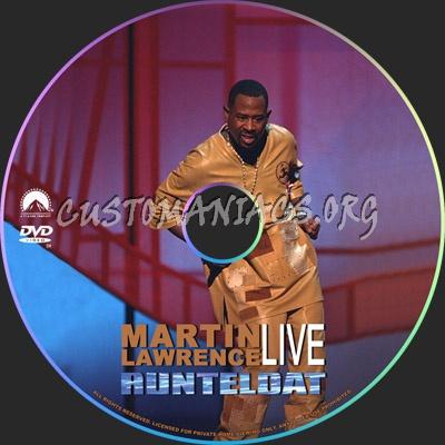 Martin Lawrence Live Runteldat dvd label