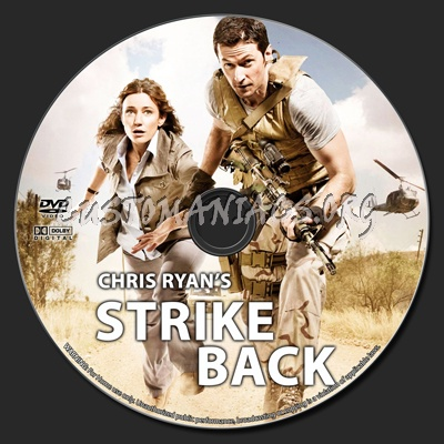 Chris Ryan's Strike Back dvd label