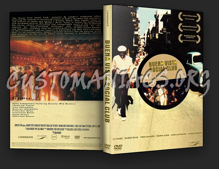 Buena Vista Social Club Dvd Cover Dvd Covers Labels By Customaniacs Id 108092 Free Download Highres Dvd Cover
