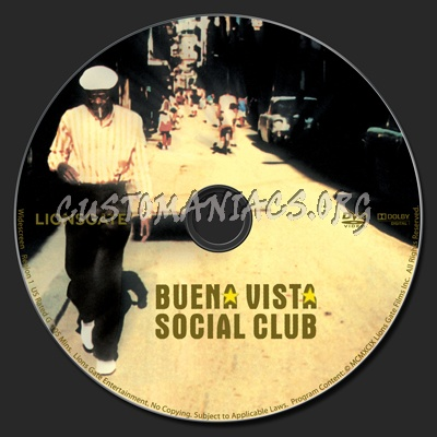 Buena Vista Social Club Dvd Label Dvd Covers Labels By Customaniacs Id 108093 Free Download Highres Dvd Label