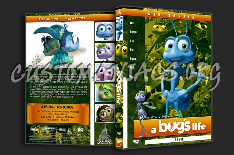 A Bug S Life 1998 Dvd Cover Dvd Covers Labels By Customaniacs Id 108121 Free Download Highres Dvd Cover