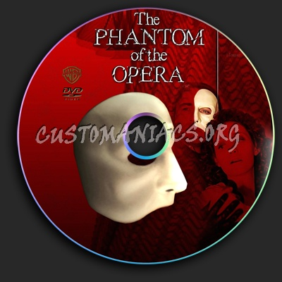 The Phantom of the Opera dvd label