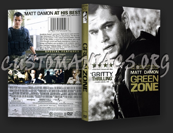 Green Zone dvd cover