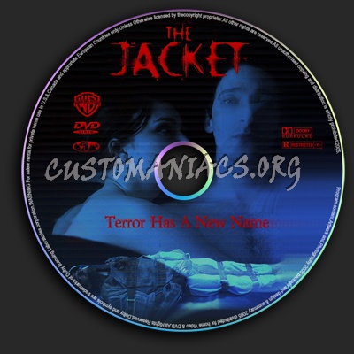 The Jacket dvd label