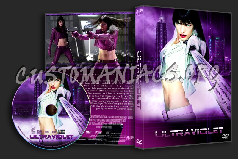 Ultraviolet dvd cover