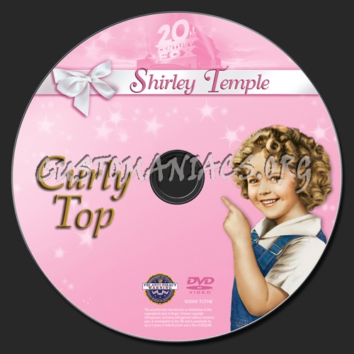 500 x 500 · 73 kB · jpeg, Curly Top dvd label